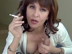 naughty teasing Mom gives a new young generation sex blowjob