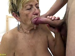 hairy 90 years japanese maid pregnant sexed up vintage servant fucks banged by her toyboy