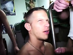 Amateur hunk getting fucked anally and cummed on