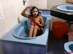 Indian latex strip club 2016 Sarika With Big Boob In Shower