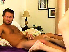 Hot gay sex Conner was loving some jacking all on his own wh