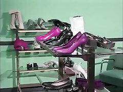 Shoe Store Footjob