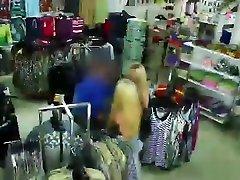 Teen thief Hayden Henessey gets a hot baldig sexcok