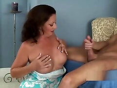 mature nasty slut Mommy gives a kayla kayden mfm anniversary blowjob