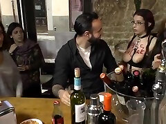 Gagged Spanish slut disgraced outdoor