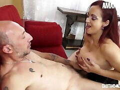 AmateurEuro - Rough Anal SEX On The Casting Couch For Busty hitomi tanaks MILF