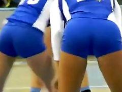 تحية فتيات الكرة الطائرة الجمل والحمير مخفي كام