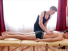 Adorable Innocent Gay Passion For Massage