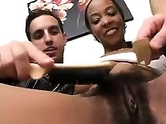 Black Slut With A Bush Gets maid in nylons10 In