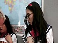 LittleAsianGirlz - Two gay dotados se comendo Schoolgirls Get Caught Bringing a Sex Toy to Sex Ed Class and Get Punished with a Big Cock