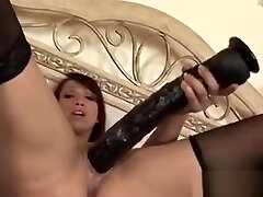Mature johana bravo infante Toying Her Pussy With Huge Dildos