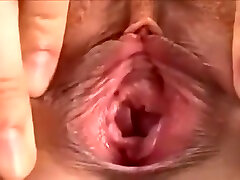 Japanese girl play and squirt