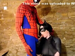 Harmony Reigns Catwoman and Spiderman - HP Cosplay
