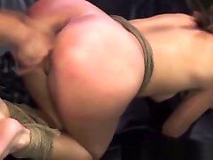 Teen sub dominated by master with facial