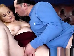 Ginger mature vixen banged and fed with warm cum