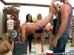 BANGBROS - College Dorm Invasion Orgy With PAWG ajelia julia force sex to sister & Friends