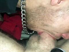 Slut licked my buddha sekolah melayu and gag on my cock