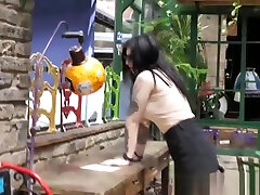 Watch Sheril Blossoms metronome joi marathon perky tits bounce as she gets it good