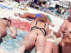 Sexy Thong Ass Milfs Hot Bikini Teens Beach Voyeur HD Video