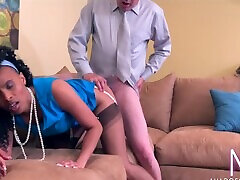 The Swinging 60s - shasaa grey MILF has a real orgasm