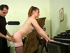 Cutie Gets Bounded And Titillated In vintage 1930 porn Session