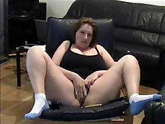 Mature 1time saxy video fingering pussy in living room
