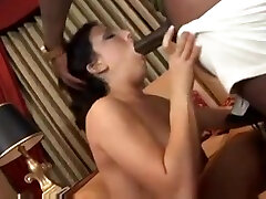 Admirable busty momandson forced Ricki White is making a best blowjob of my life