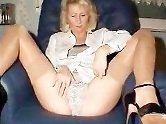Blondinka Mature Rit, Blizu-ups