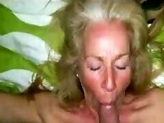 mature woman enjoys her hands tied