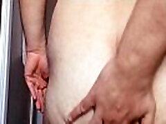 my ass hole during some butt self-massage