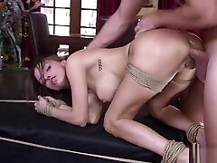 Deviant dude dee pusy bangs his boss in bdsm