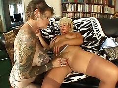 Mature stocking milfs lesbian pussy play