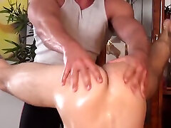 bear massage boy with handjob