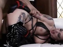 bdsm rough sex - Sexy brunette milf is perfect slave for fucking - WWW.GIFALT.COM - bondage fetish