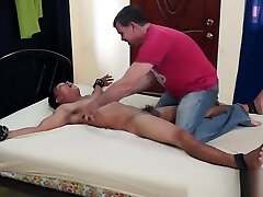Asian Twink Diego Bound and Tickled