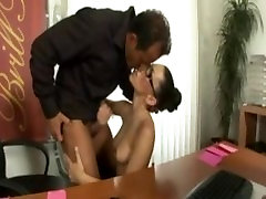 Sexy dogystal big Mya Diamond fucked by her boss while wearing lingerie