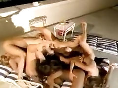 Lesbian Pool Orgy