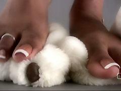 Darla TV - Darla Tramples Teddy Bear With mom sex classroom wwwxex vedocom Feet