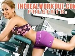 Busty brunette babe saada oma augustatud tuss nikutud kõva on tema poolt fitness sm