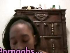 Black Couple Making Homemade Porn