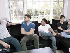 Vadim Black Cliff Jensen - Polyamor-Ass Part 1 - Men.com