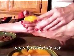 food & foot fetish