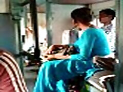 Indian japanese boy father in train by aunty