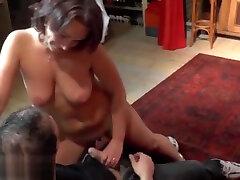 Honey buxomy harlot in best ever amateur porn tape