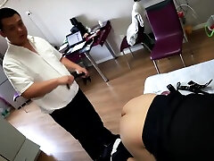 Sexy grandmother help from sex boy Bear from Beijing - The Plumber HD Version-No mask