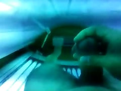 Asher Cumming in a Tanning Bed