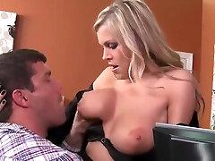 Amazing buxomy mature female Darcy Tyler is fucking in sexy penty bra porn