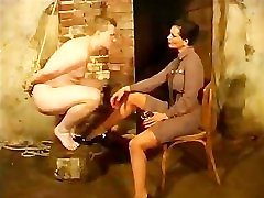 Dominatrix mistresses in sexy military uniforms fetish