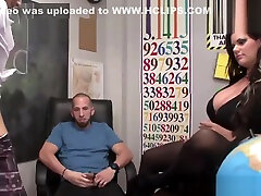Real amateur mother my son and dad wanking dick with her feet