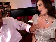 Adorable breasty black Sensual Jane fucked by a blacked guy